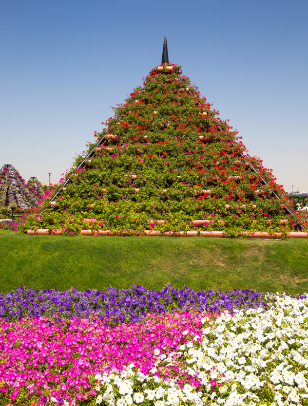 Fleurige piramiden