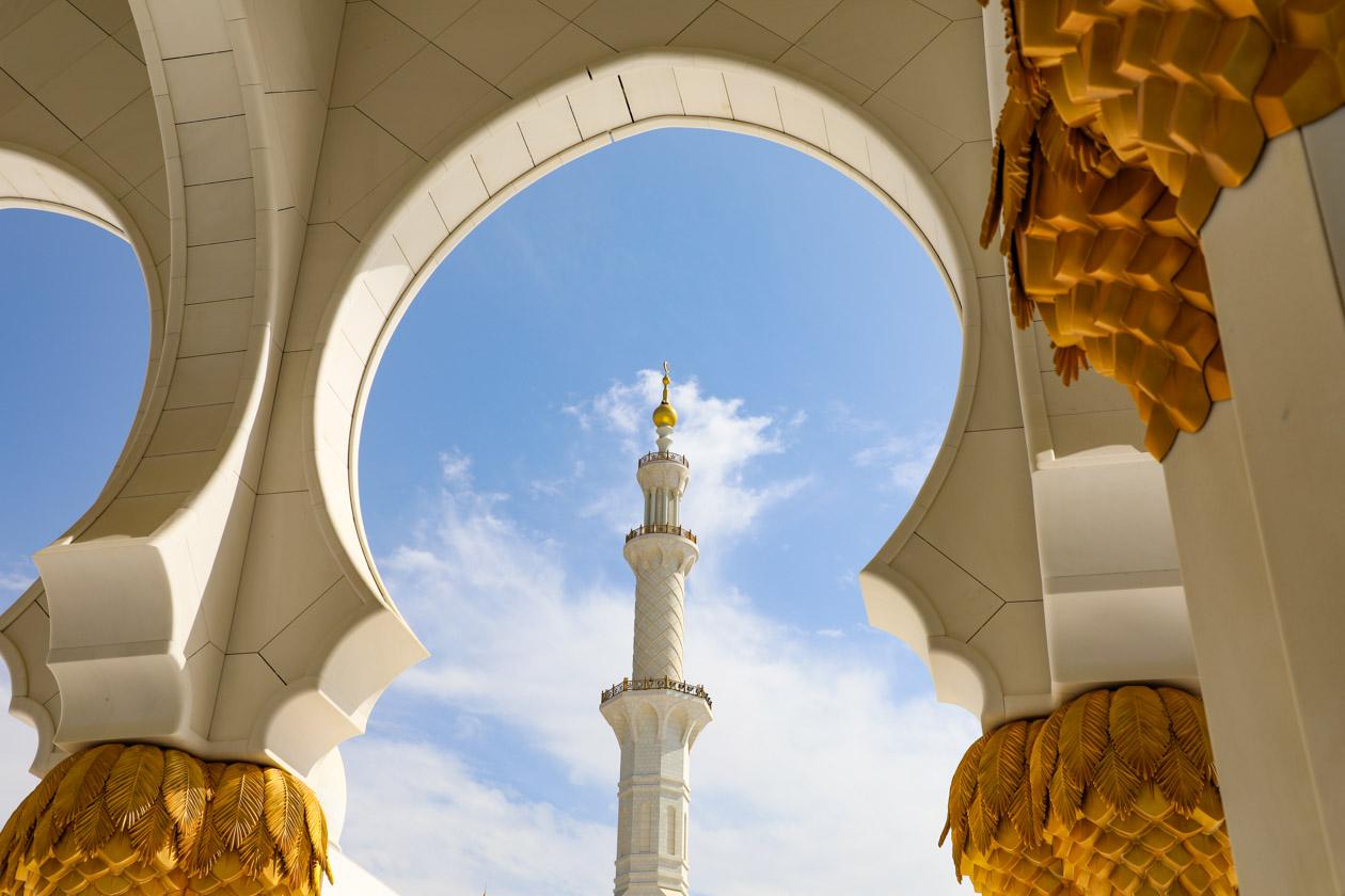De adembenemend mooie Sheikh Zayed Moskee