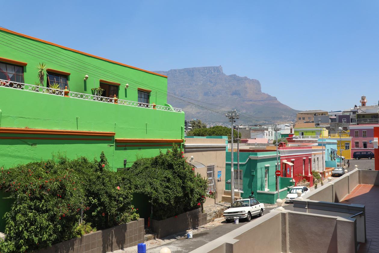 De wijk Bo-Kaap in het hart van Kaapstad