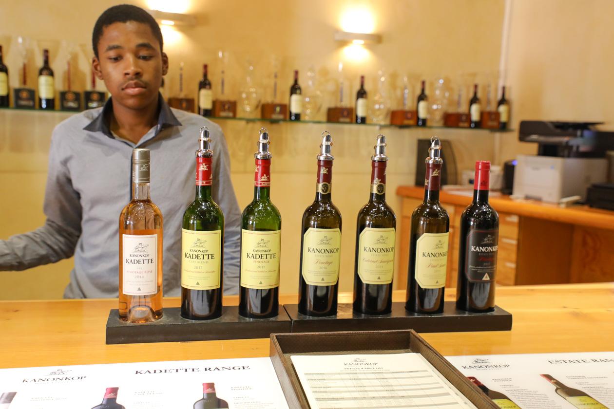 Kanonkop wijnen zijn echte topwijnen uit de Kaapregio.