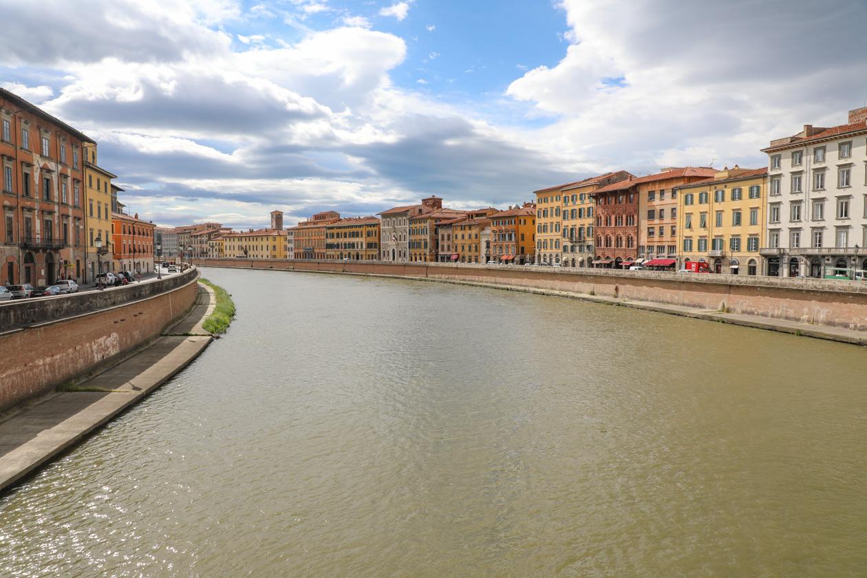 Wandeling langs de Arno