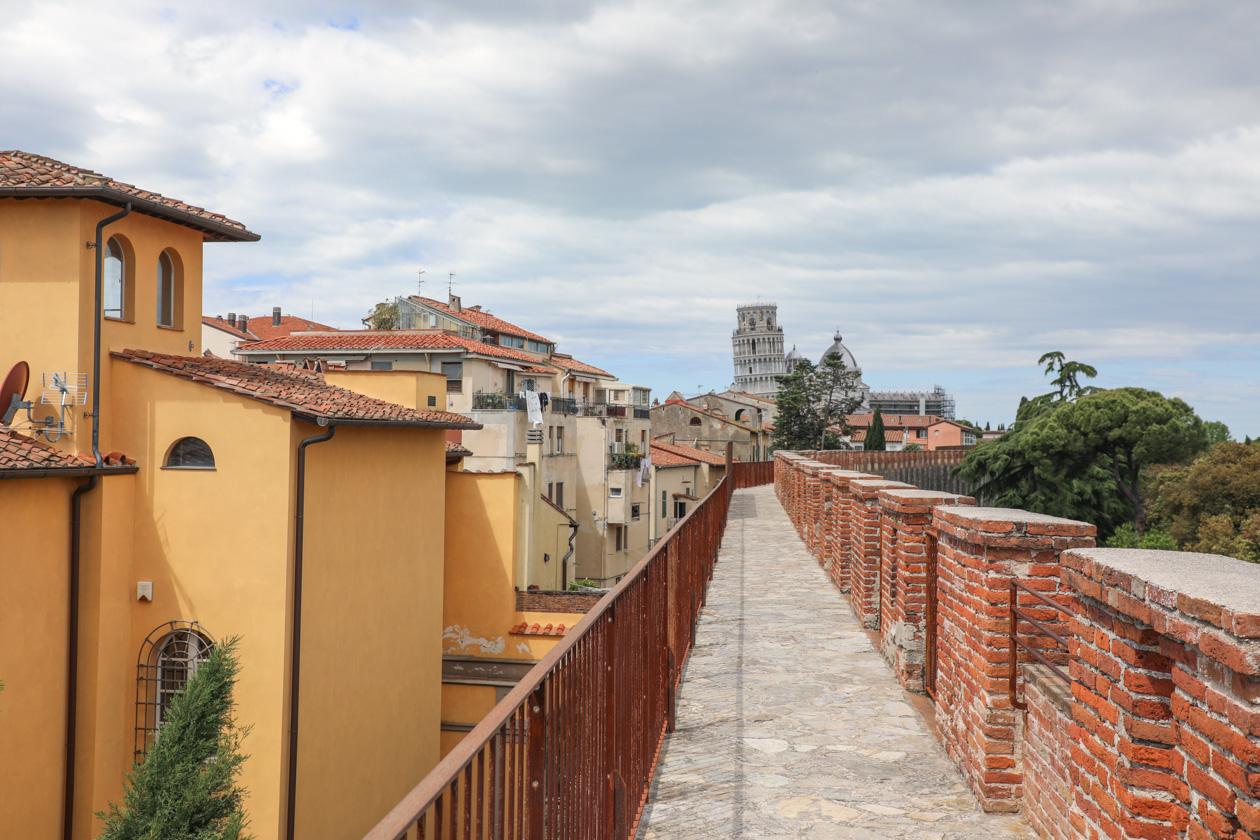 Wandeling over de stadsmuren
