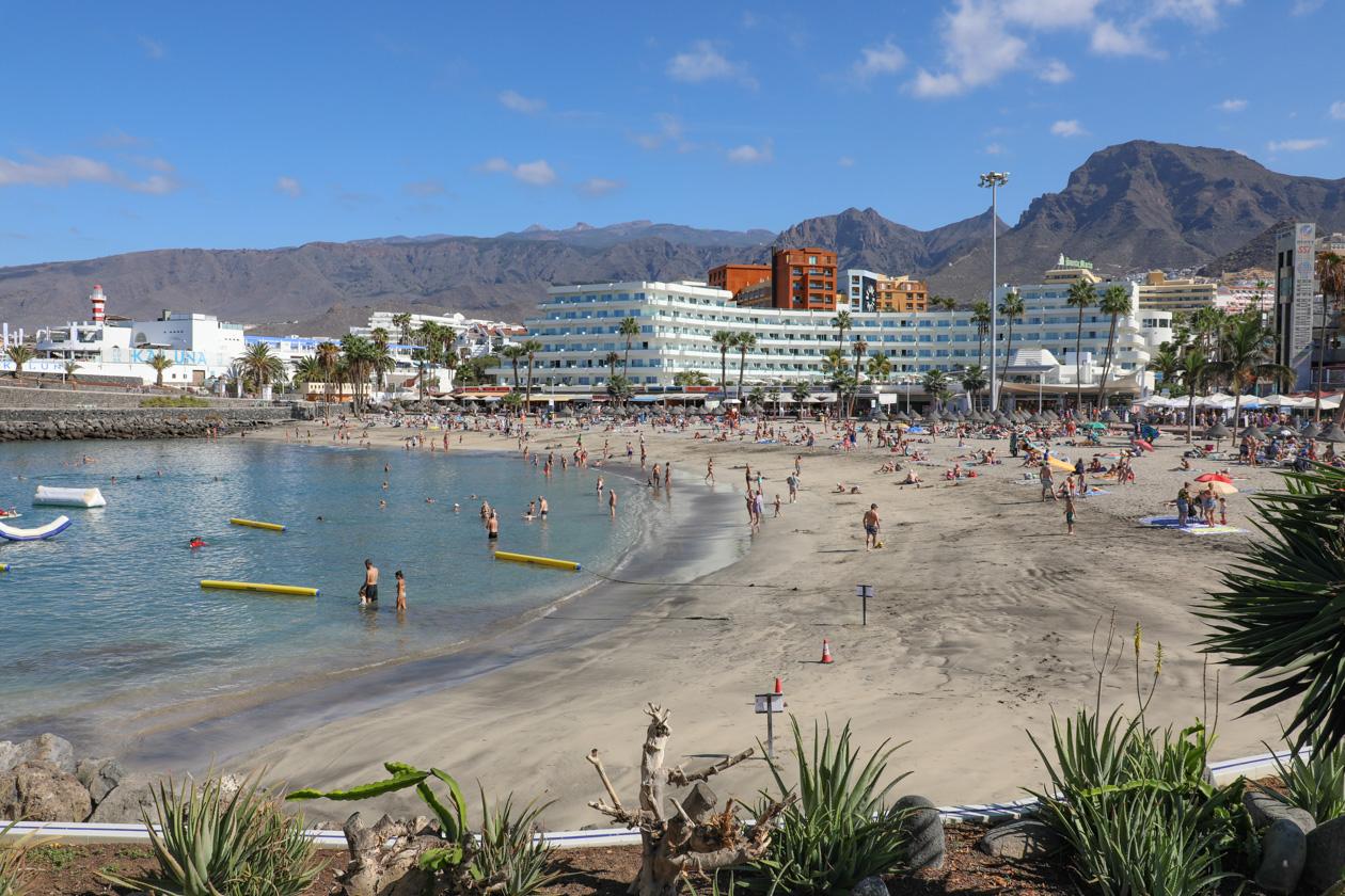 De stranden van Tenerife