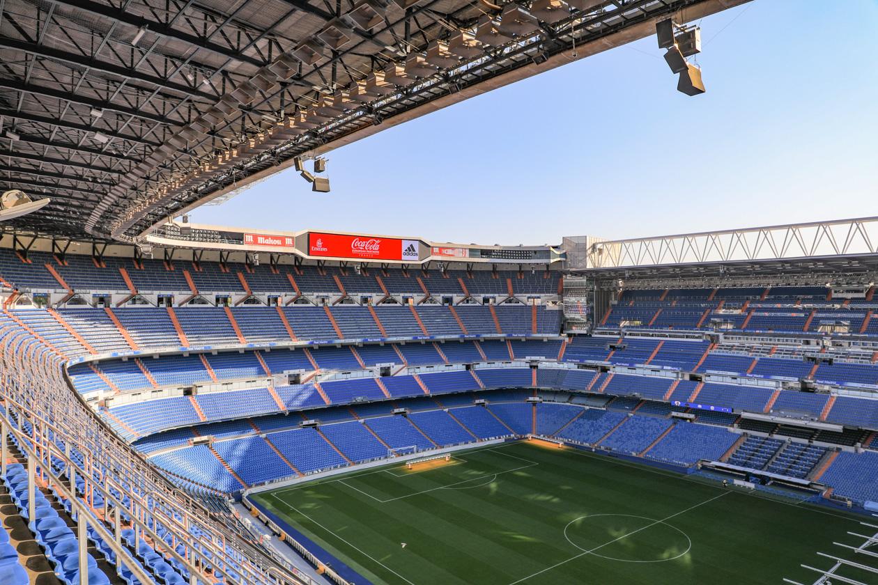 het Bernabéu Stadion